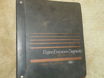 1987 Ford Car Truck Emissions Diagnosis Service Manual