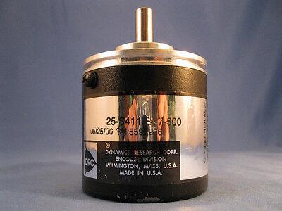 Drc Dynamics Research Corp Encoder 25-s411-b17-500