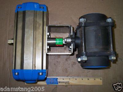 Valbia Da100 Rotary Actuator W Wcb 2.5 Ball Valve