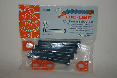 Loc-line 14 Hose Extended Element Kit With Element Clamps 41475 New