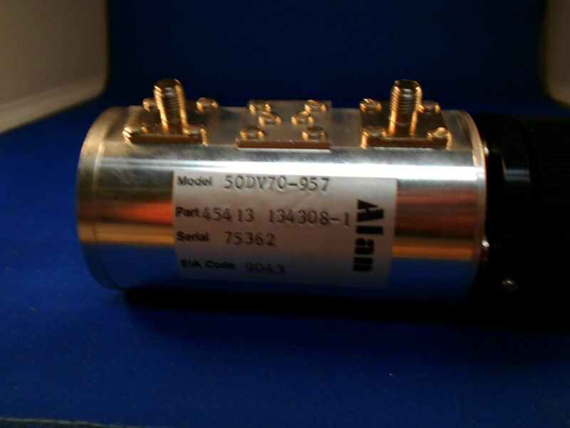 50DV70-957  ALAN 15 STEP ATTENUATOR NEW OLD STOCK