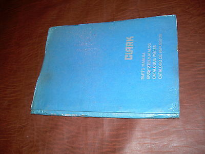 Clark Forklift Tm 145 Parts Catalog Manual