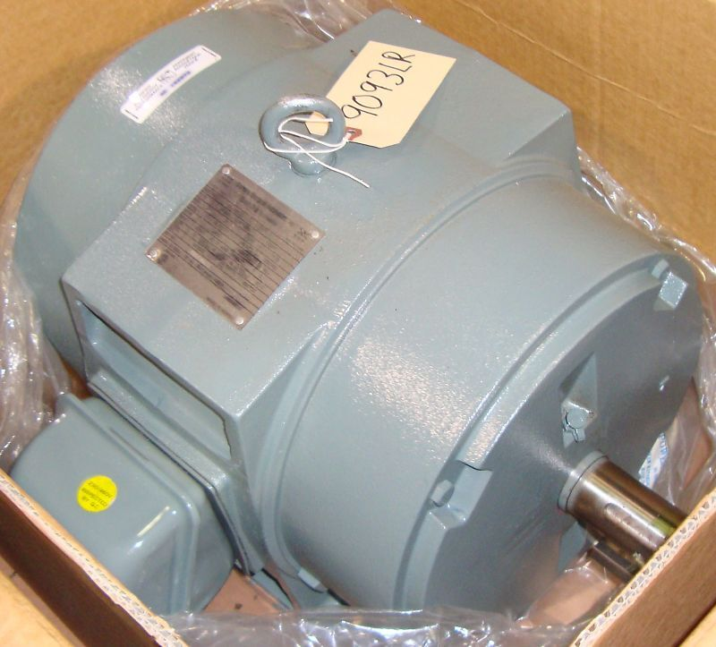 NEW Siemens Electric Motor HP 20 RPM 3505 9093LR