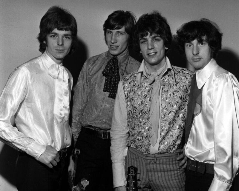 Early Pink Floyd, 8x10 B&W Photo