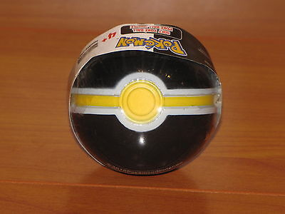 LUXURY Poke Ball Jakks Black White Yellow Red Soft Foam Pokemon Go PokeBall NEW!