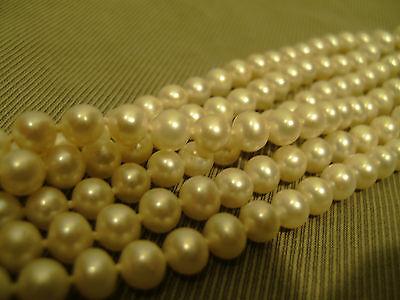 Perlencollier SWZP Collier Weiss 3 rhg. 45cm vom Juwelier Neu