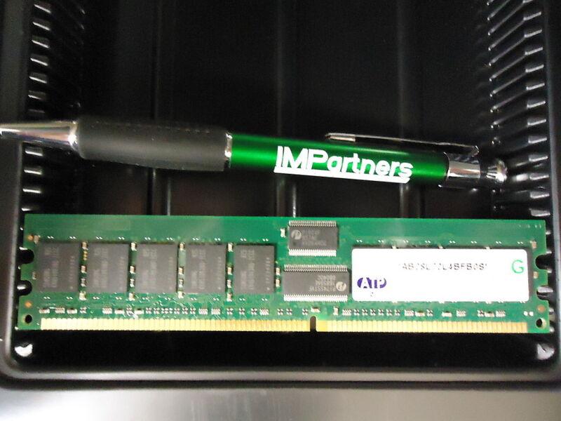 ATP AB28L72L4BFB0S 1GB PC2100 ECC RDIMM 184 pin Memory Module. New! 6 pieces!