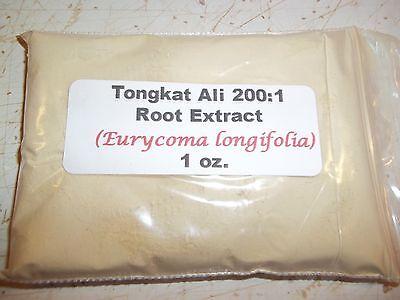 - 1 oz. Tongkat Ali 200:1 Root Extract Powder