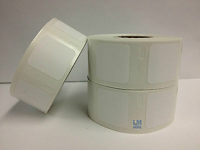 4 Rolls 1x1 Dymo Labelwriter Compatible 30332 Multipurpose 750 Labels Per Roll