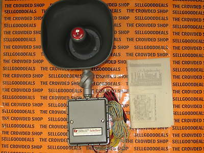 Federal Signal 300gc-125-1z Selectone Speakertone Signal 125vdc 300gc1251z New