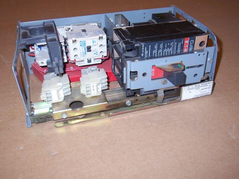 CUTLER HAMMER ADVANTAGE SENITROL SIZE 1 MOTOR STARTER 15 AMP BREAKER MCC BUCKET