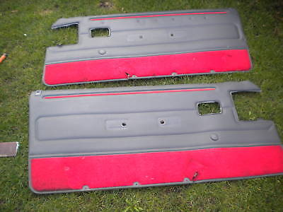 peugeot 205 19 16 gti 14 xs gt all 205 pair of front gti door cards