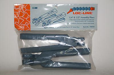 Loc-line 14 12 Hose Assembly Pliers Set 78003 New