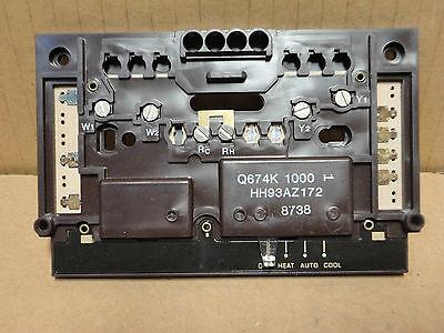 ~DiscountHVAC~ HH93AZ172 - Carrier Parts Thermostat Sub Base Honeywell Q674K1000 - Carrier Sub-base