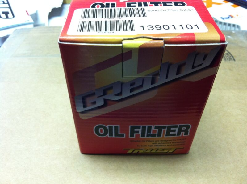 Greddy Ox-03 Racing Performance Oil Filter For Toyota 4ag/3sg/rb
