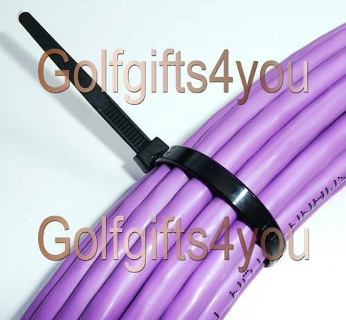 2 PKTS 100 x BLACK CABLE TIES 100mm x 2.5mm *FREE P&P*