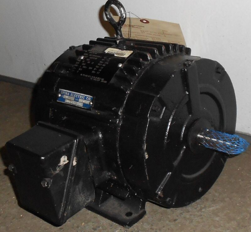 Lincoln Remanufactured Electric Motor 1 HP  1770 RPM 11503WT