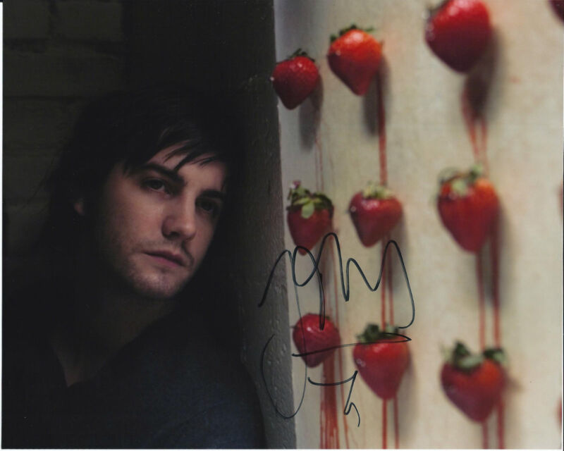 ACTOR JIM STURGESS SIGNED 21 8X10 PHOTO W/COA CLOUD ATLAS THE WAY BACK ONE DAY D