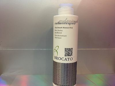 BROCATO PROFESSIONAL CURLINTERRUPTED ULTRA-SMOOTH BLOWOUT ELIXIR 8.5 OZ / 250 ML for sale  Shipping to India