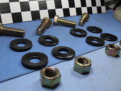 NOS 68-69-70-71-72 Chevy CAMARO  SS  RS Z/28 Front Bumper Bracket BOLTS  Kit !