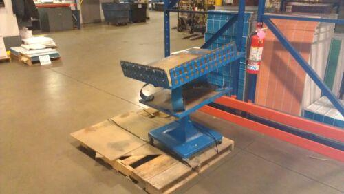 Industrial I.S. Paper Jogger 28x28 Model AP28; Floor Stand I-S Jogging Machine