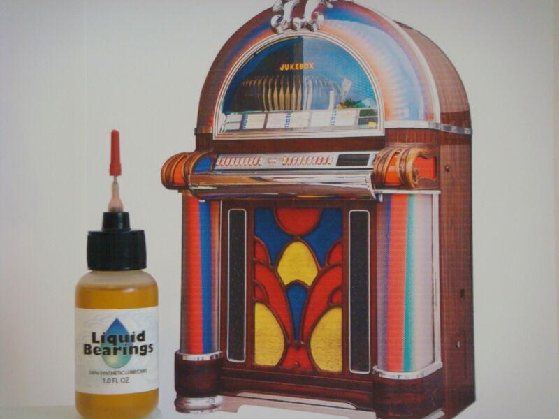 Liquid Bearings, BEST 100%-synthetic oil for Wurlitzer jukebox, PLEASE READ!!