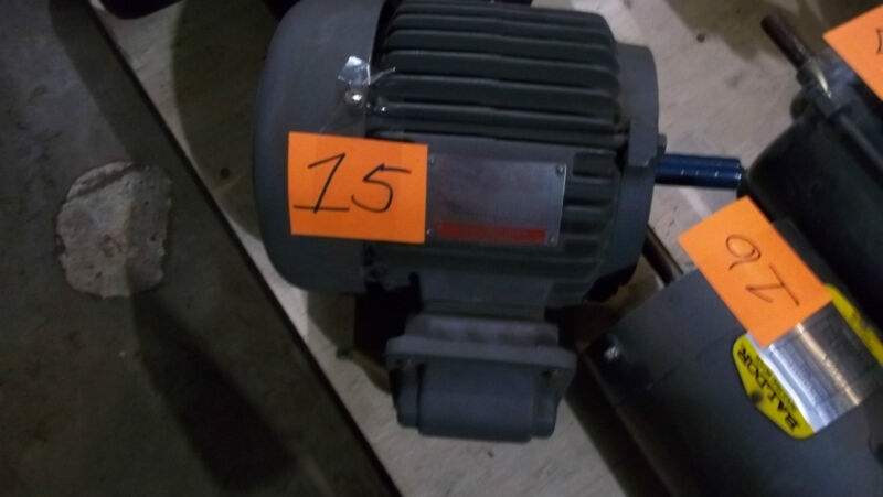 GE GENERAL ELECTRIC SEVERE DUTY MOTOR MODEL 5K143SC205 ZDC 1745 RPM NEW (38)