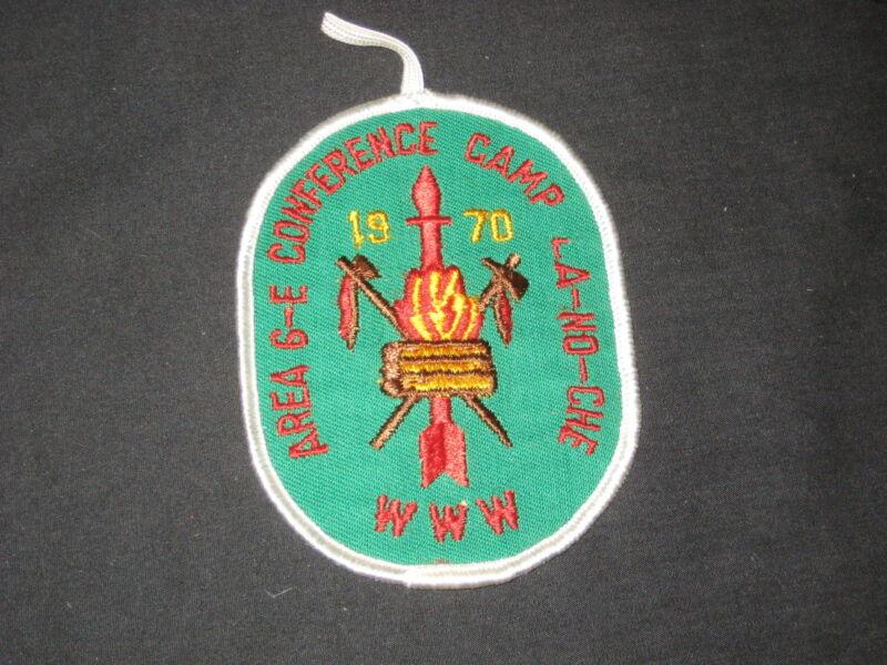 6-E 1970 OA Conference Pocket Patch    oa