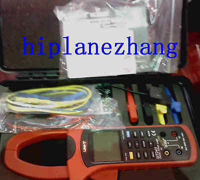 Three Phase True Rms Harmonic Analysis Power Clamp Meter Usb Data Logger Ut243