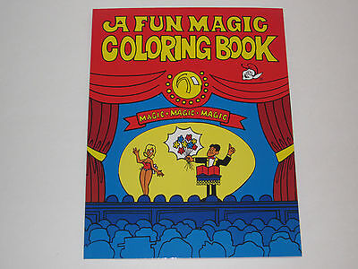 Kid Magic Trick (The Magic Coloring Book Magic Trick - Children's Magic, Birthday Parties,)