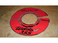 64-66 Chevy Truck Pickup hubcap hub cap  1964 Sticker 1965,1966 Decal