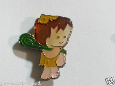 Bam Bam Rubble old Flintstone Vintage Pin  - Flintstone Bam Bam