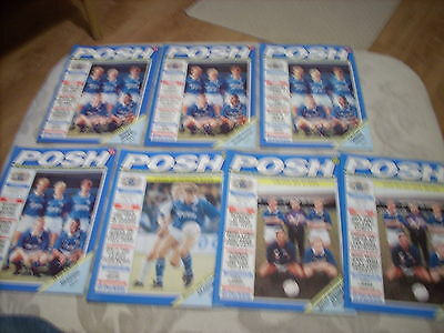 7.12.91 Peterborough United v Reading programme FA Cup