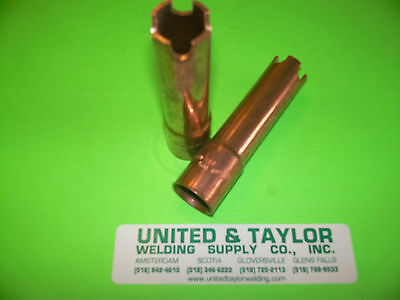 Tweco Notched End Mig Welder Nozzle Part 22-62-fas