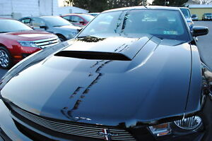 NEW Ford 2010-2011-2012 Mustang V6 / GT Hood Scoop - Pony Pack Louvre Pack