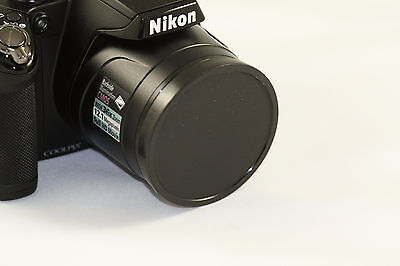 Push UP Front Lens Cap Cover For Nikon Coolpix P510 P520 P530 Digital Camera , used for sale  Brooklyn