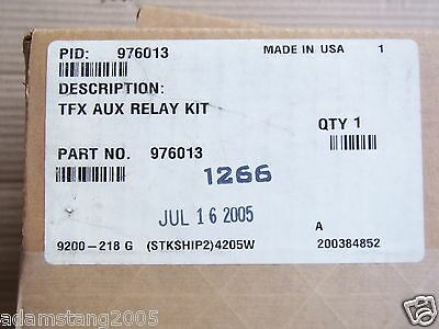 New Box Sealed Fire Alarm Simplex 976013 Tfx Aux Relay Kit