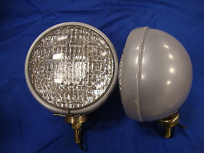 8n Naa Jubilee 600 601 800 801 901 2000 4000 Ford Tractor Headlights 12v 2qty
