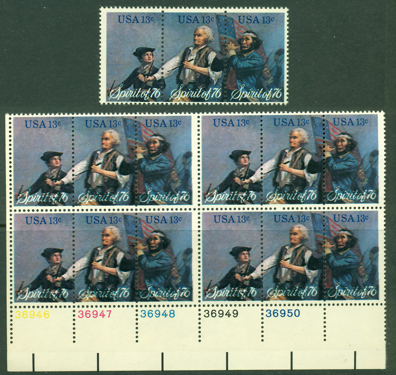 #1631a Plate Block Color Shift Bl3992