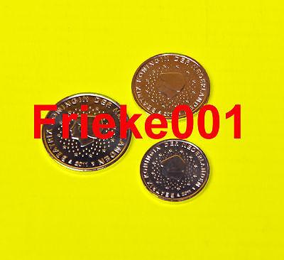Nederland - Pays-Bas - 1,2 en 5 cent 2011 unc.
