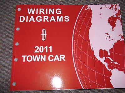 2011 Lincoln Town Car Wiring Electrical Diagram Shop Repair Service Manual EWD