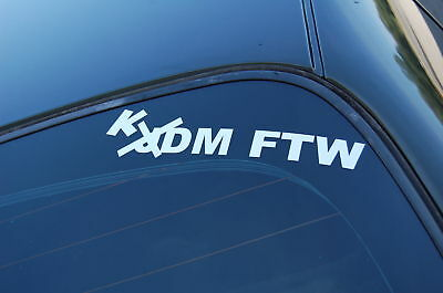 SUPREME Vinyl Decal Sticker JDM Fatlace Euro Drift Lowered Illest FWD FTW