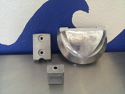 OMC Cobra Outdrive Sterndrive  Zinc Anode Kit 3 Pieces!
