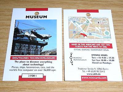 Deutsches Technikmuseum Berlin - 2 Für 1 Gutscheincoupon - Flugzeuge, Eisenbahn—