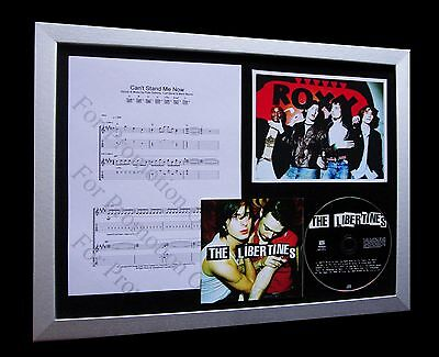 LIBERTINES Can't Stand Me Now LTD Nod QUALITY CD FRAMED DISPLAY+FAST GLOBAL SHIP