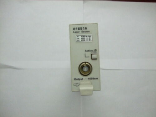 Agilent/HP 81651A Laser Source Module