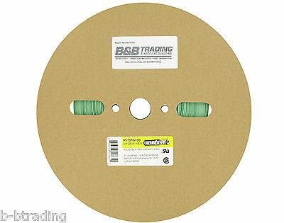 100 Ft Roll 38 Id 9mm Thermosleeve Green Polyolefin 21 Heat Shrink Tubing
