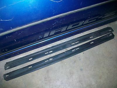 1990 Pontiac Firebird Formula - 82-92 Camaro Firebird Trans Am LOWER DOOR PANEL SEALS weatherstrip tpi 91