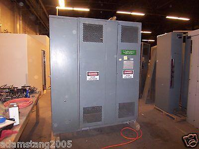 Square D 300kva Transformer 3 Phase 4160v-240v120v Delta Wye 120v Ct 30kv