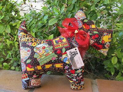 Adorable Scottie Dog Mary Engelbreit mottos fabric & Chenille Too Cute!